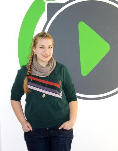 Lena Dobler zu Gast in den Lokalhelden; Quelle: egoFM