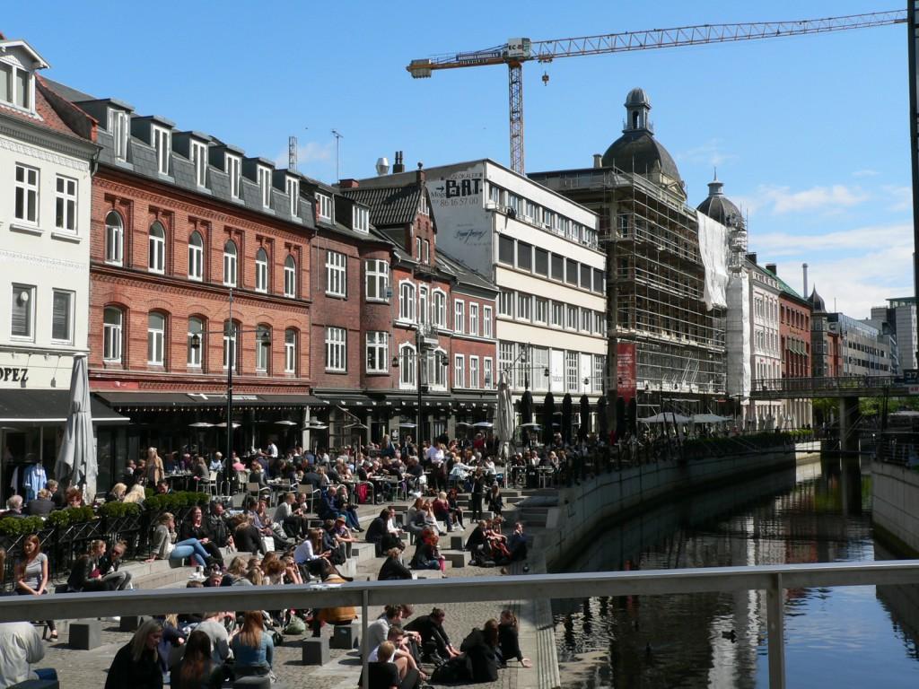 Das Ziel unserer langen Reise: Aarhus. Eine überaus schöne Stadt