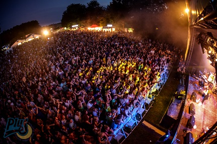 Das Prima Leben und Stereo Festival im Jahr 2014 am Vöttinger Weiher