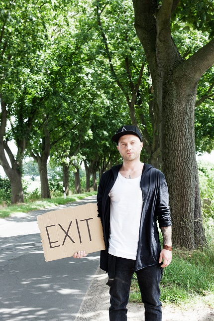"""Mit """"Exit"""" nimmt Chakuza auch Abschied aus Berlin; Credit: Mirjam Wählen"""