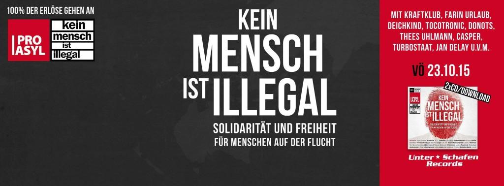 """Der Sampler für Menschlichkeit: """"Kein Mensch ist illegal"""""""
