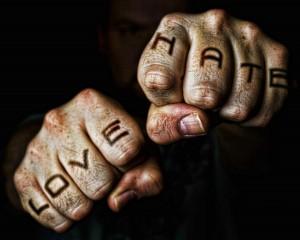 Hate versus Liebe