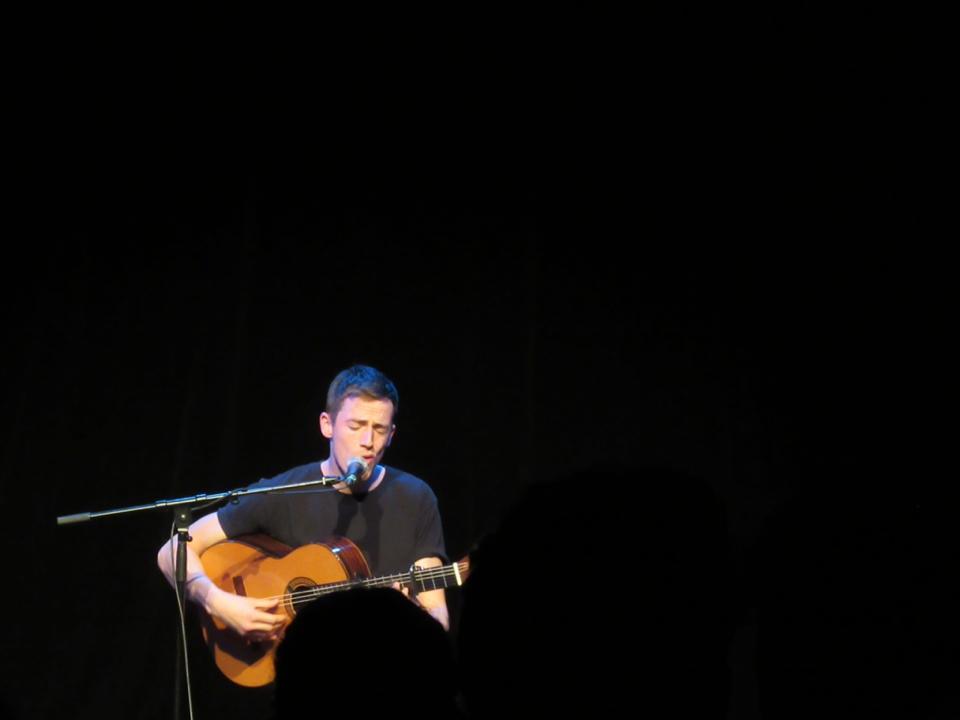 Charlie Cunningham live im Ampere