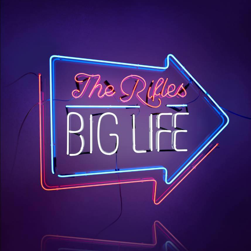 "The Rifles mit ""Big Life"""