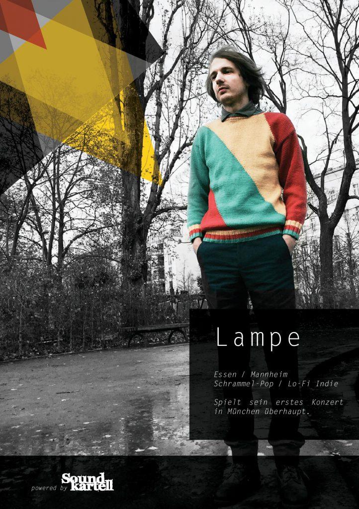 Lampe bei der Soundkartell Night #1