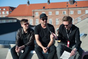 True Nord im Interview beim Spot Festival; Fotocredit: Sarah Buth