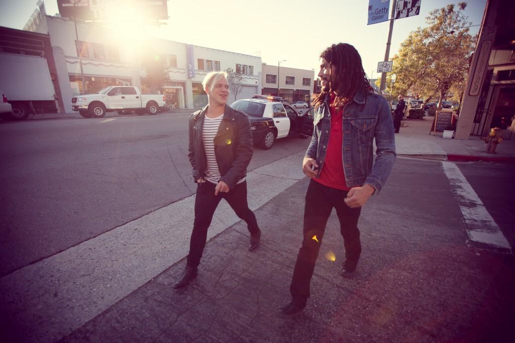 Das neue Duo: Justin Taylor & Jaakko Manninen; Quelle: EMI Music