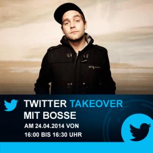 Twittert eine halbe Stunde mit Bosse über Eventim! ; Credit: Eventim DE