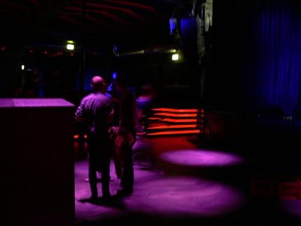 Opening-Party mit Repitle Youth, aber war nicht viel los; Credit: Alina Felder