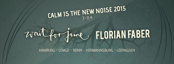 Wait For June und Florian Faber gemeinsam auf Tour