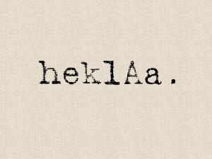 Aus dem Elsaß: heklAa