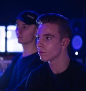 GEBUHR Rap Duo aus Kopenhagen; Fotocredit: Anders Rohlin Olsen