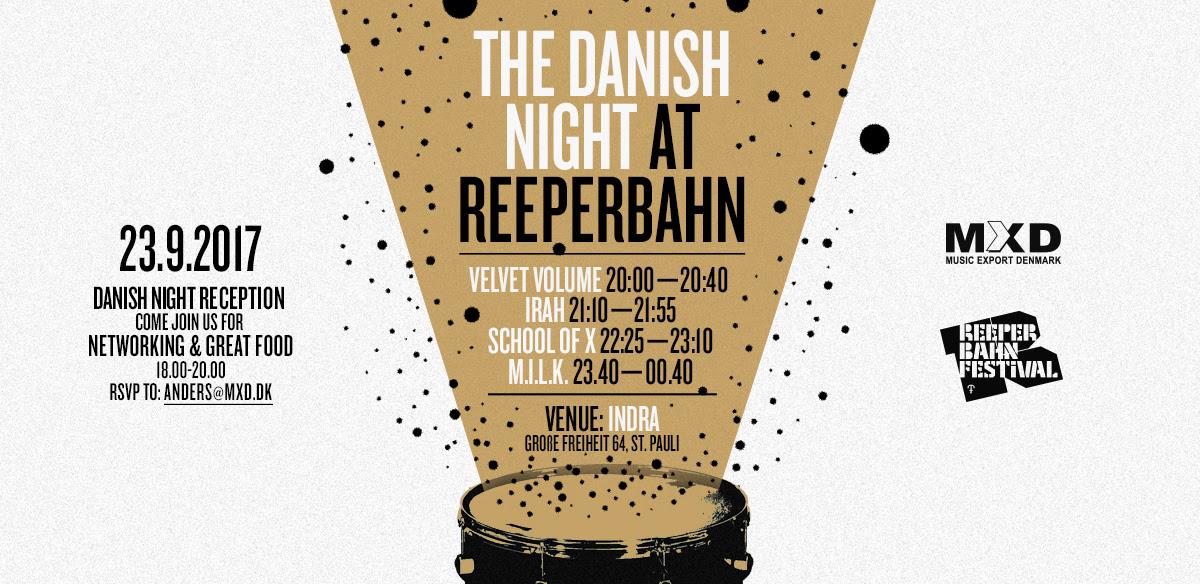 Danish Night beim Reeperbahn Festival