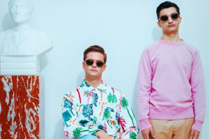 Superwalkers Synth-Duo aus Schweden
