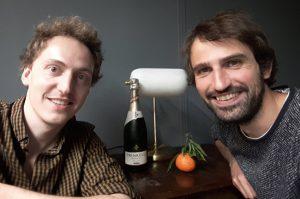 Sebastian und Arne von Backseat aus Hamburg