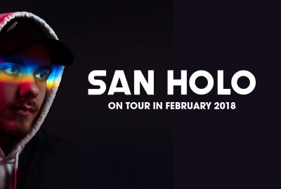 SAN HOLO live in Hamburg