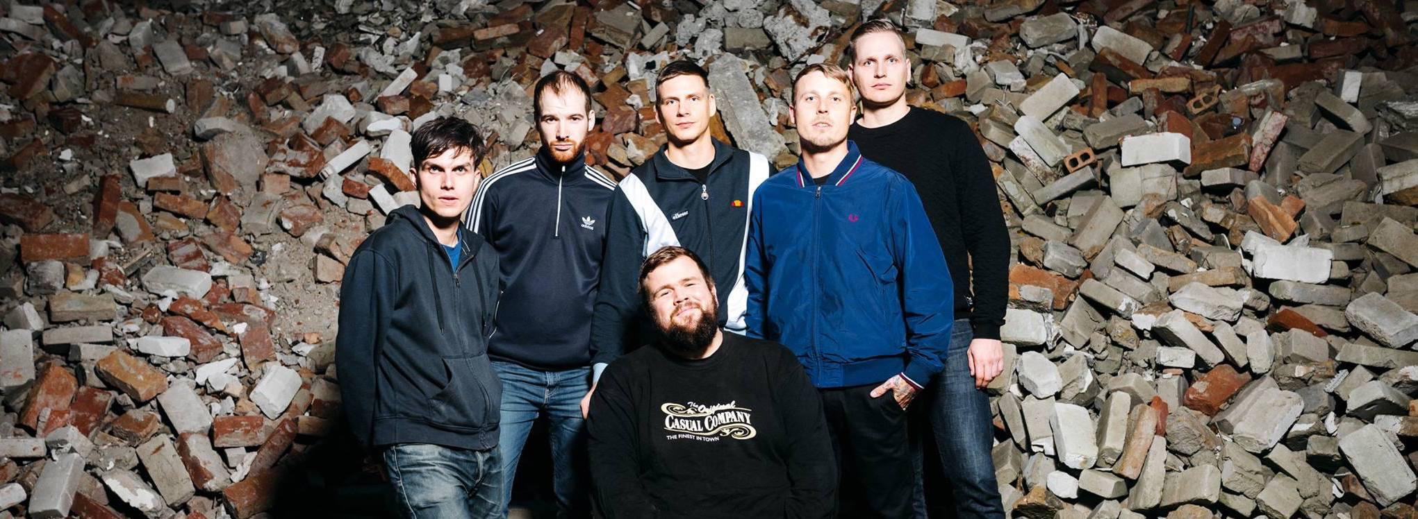 """Das neue Album """"Sturm & Dreck"""" von Feine Sahne Fischfilet ist seit dem 12.2.2018 draußen"""