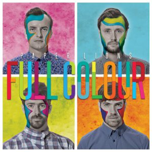 "Paper Lions Album ""Full Colour"" (Artwork by Cohen MacDonald)"