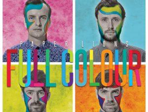 """Paper Lions Album """"Full Colour"""" (Artwork by Cohen MacDonald)"""