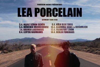 Lea Porzellan auf Deutschlandtour