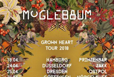"Moglebaum auf ""Grown Heart"" Tour - Soundkartell präsentiert"