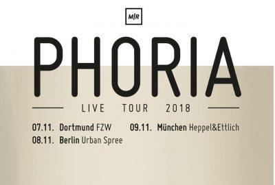 Phoria ab November auf kleiner Tour - Soundkartell präsentiert
