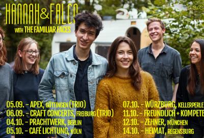 Hannah & Falco auf Deutschlandtour