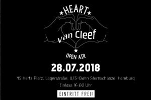 """Das """"Heart van Cleef""""-Festival am 28.7. als Höhepunkt der Jubiläums-Feier"""