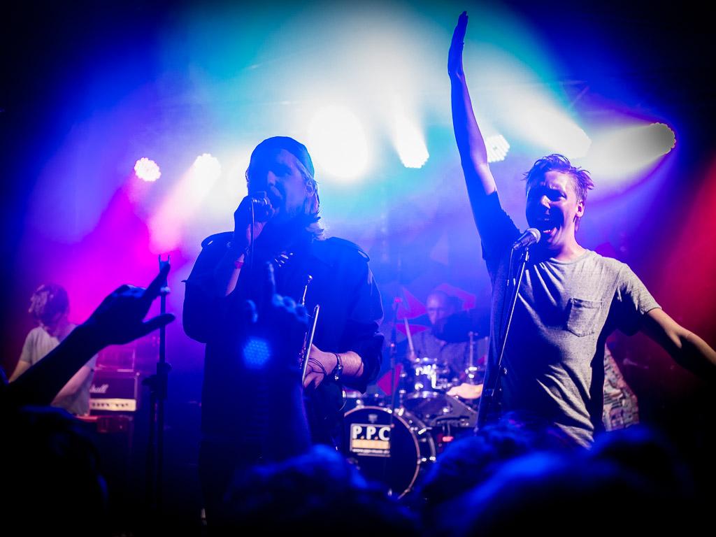 SNNTG-Festival: Auch FLOOOT aus Göttingen sind mit ihrem Blech-Blas-Rap wieder mit von der Partie