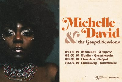 Michelle David & The Gospel Sessions live im Knust