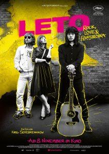 LETO - Rock, Love & Perestroika. Ab dem 8.11.2018 im Kino