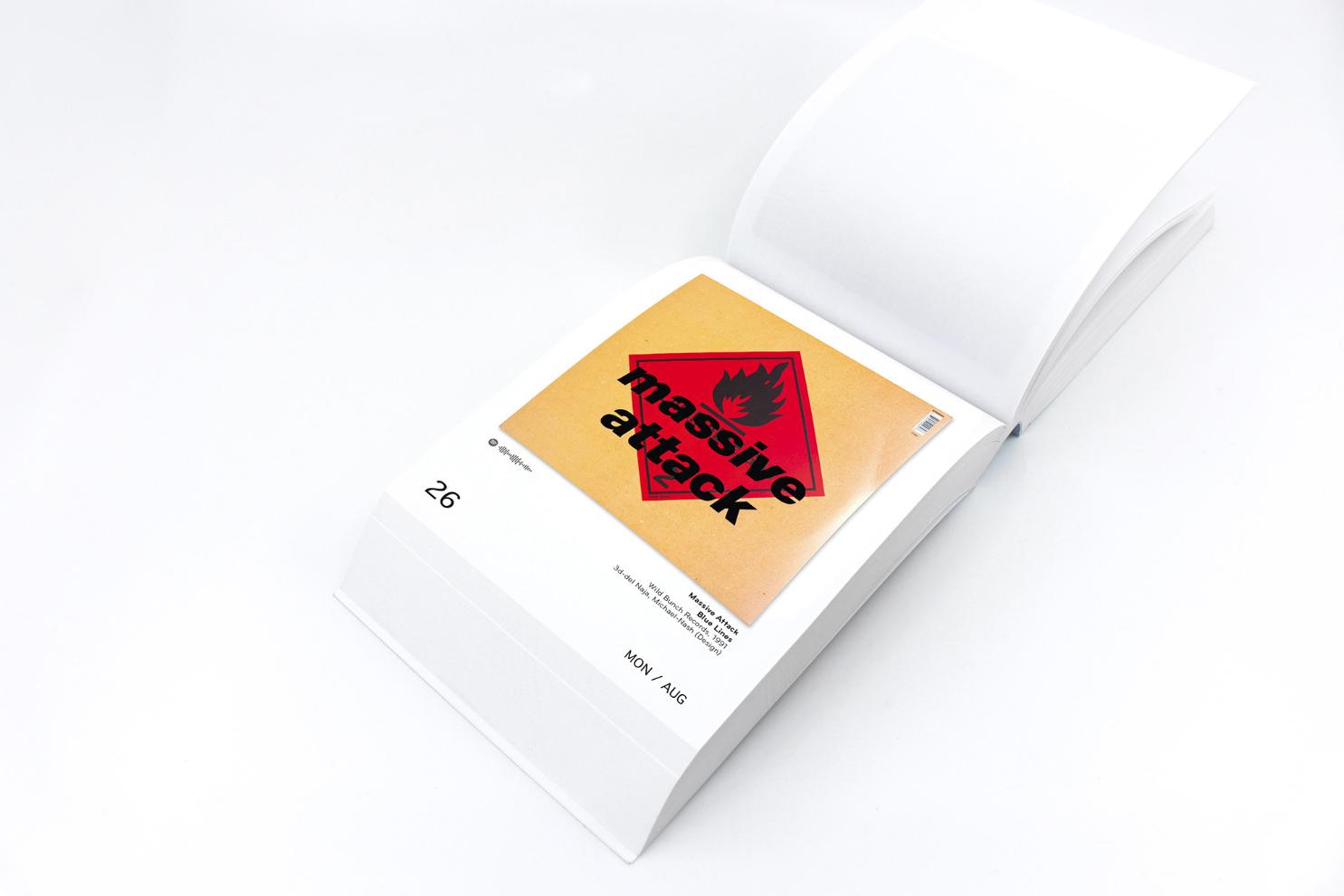 """Mit dabei im """"The Art Of Vinyl Covers"""" Kalender 2019 von Oliver Seltmann: Massive Attack"""