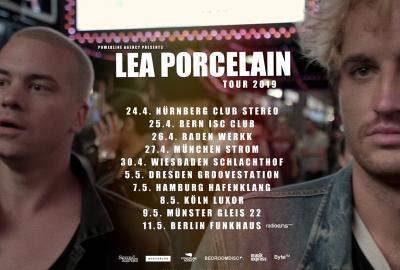 Lea Porcelain gehen auf Tour - Soundkartell präsentiert