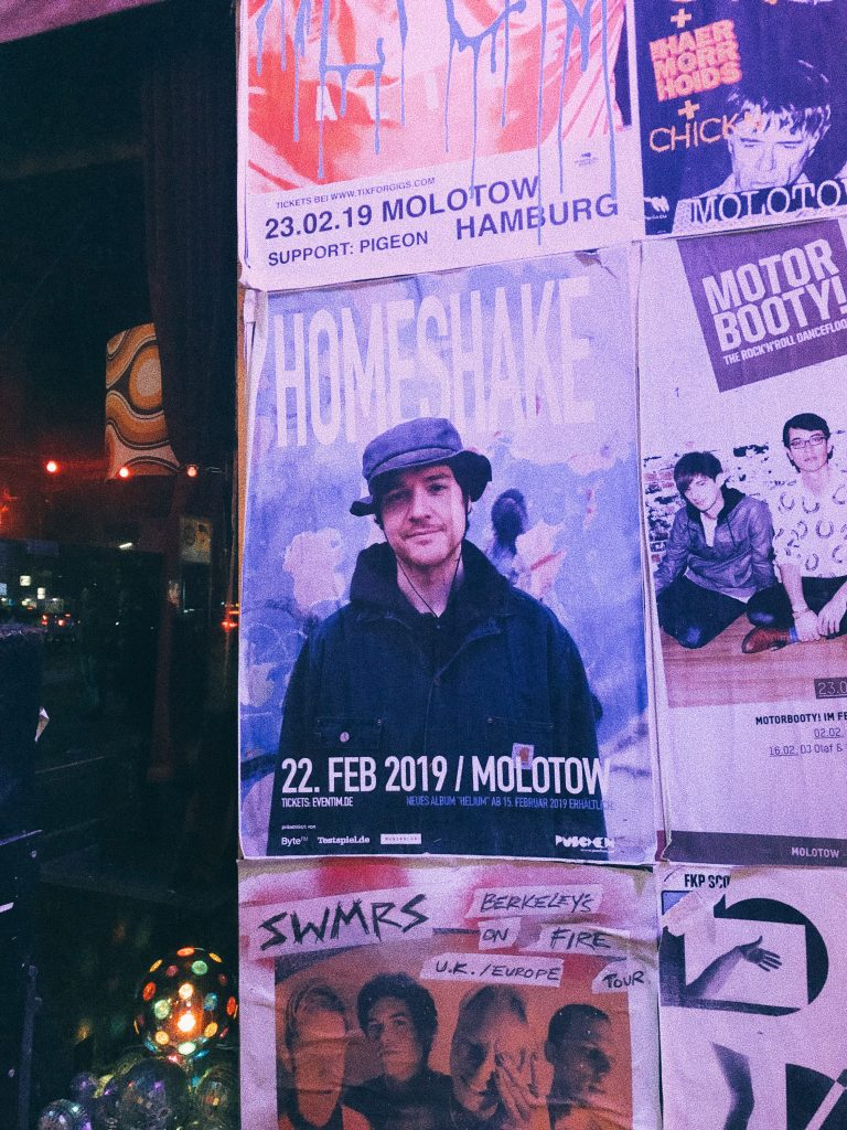 Homeshake live in Hamburg