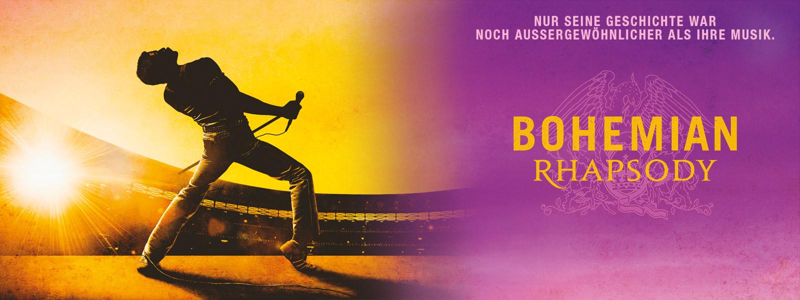 Vierfach Oskar prämiert und endlich als DVD und Blu-ray erhältlich: Bohemian Rhapsody (Quelle: www.fox.de)