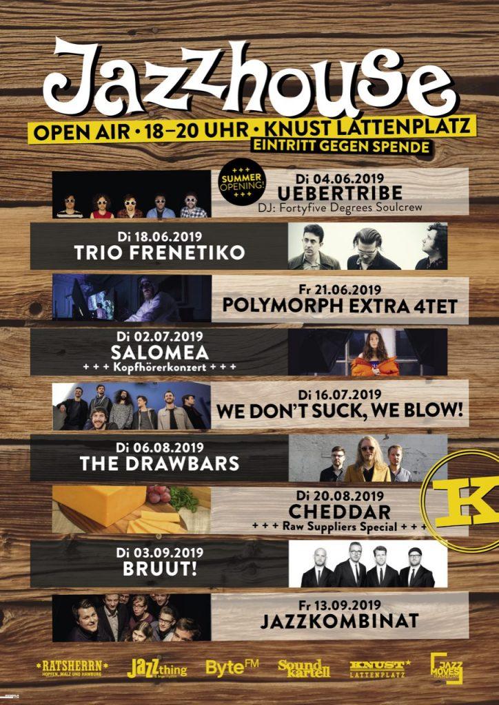 04.06.2019 – Jazzhouse Open Air im Knust