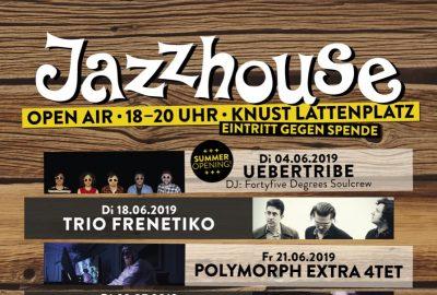 Jazzhouse Open Air im Knust - Soundkartell präsentiert