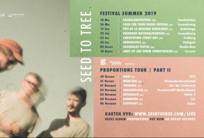 Seed To Tree auf Deutschlandtour