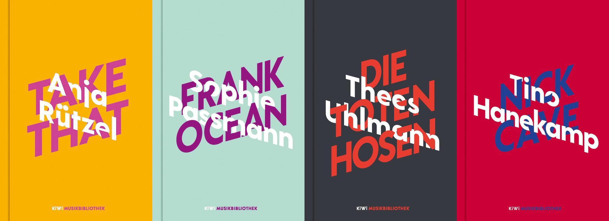 Spannende Buchreihe aus dem KIWI-Verlag: Künstler/-innen schreiben über ihren Lieblingsmusiker