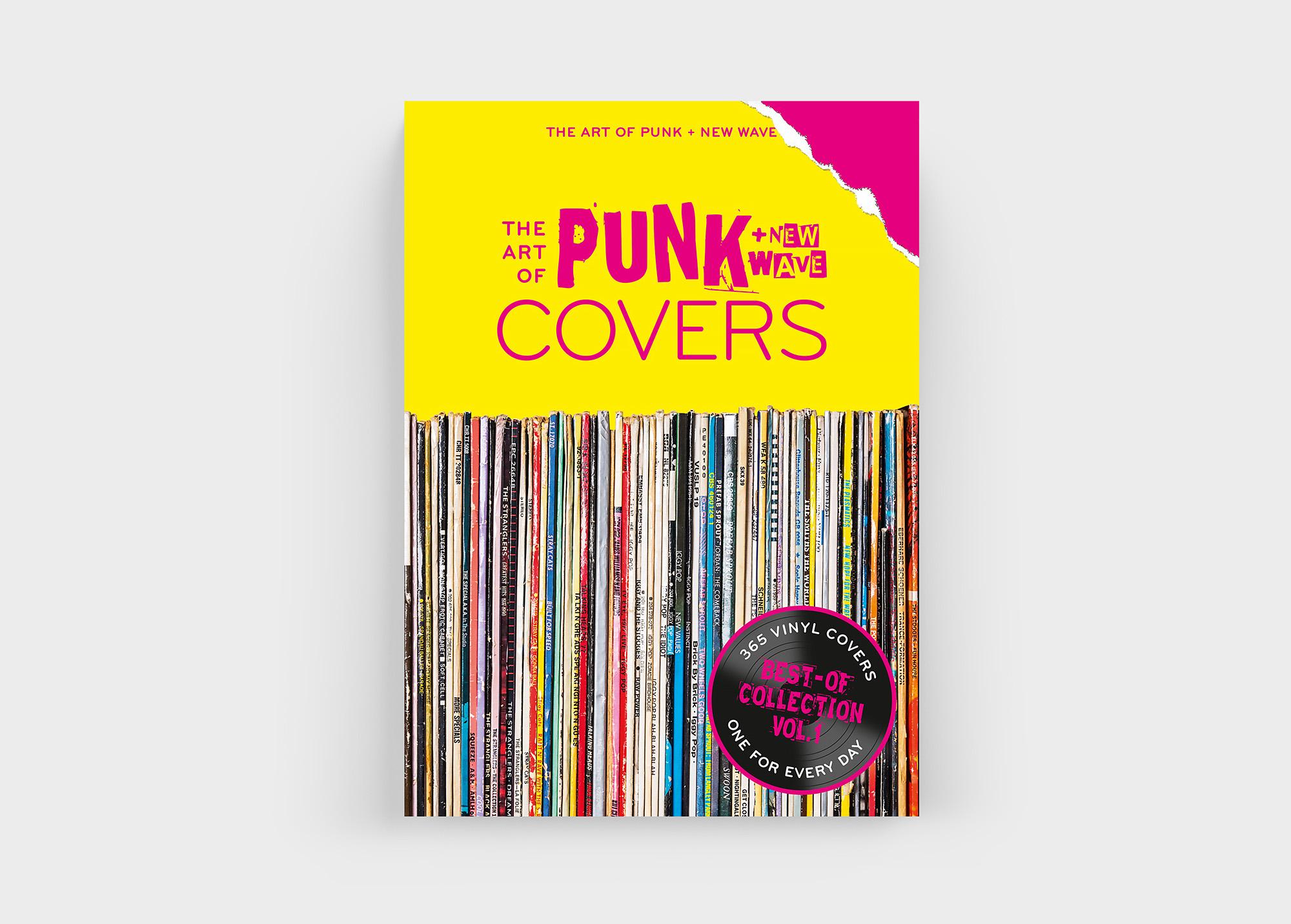 """Auch 2020 kann der """"The Art Of Punk + New Wave Covers"""" Kalender begeistern. Und das Tag für Tag!"""