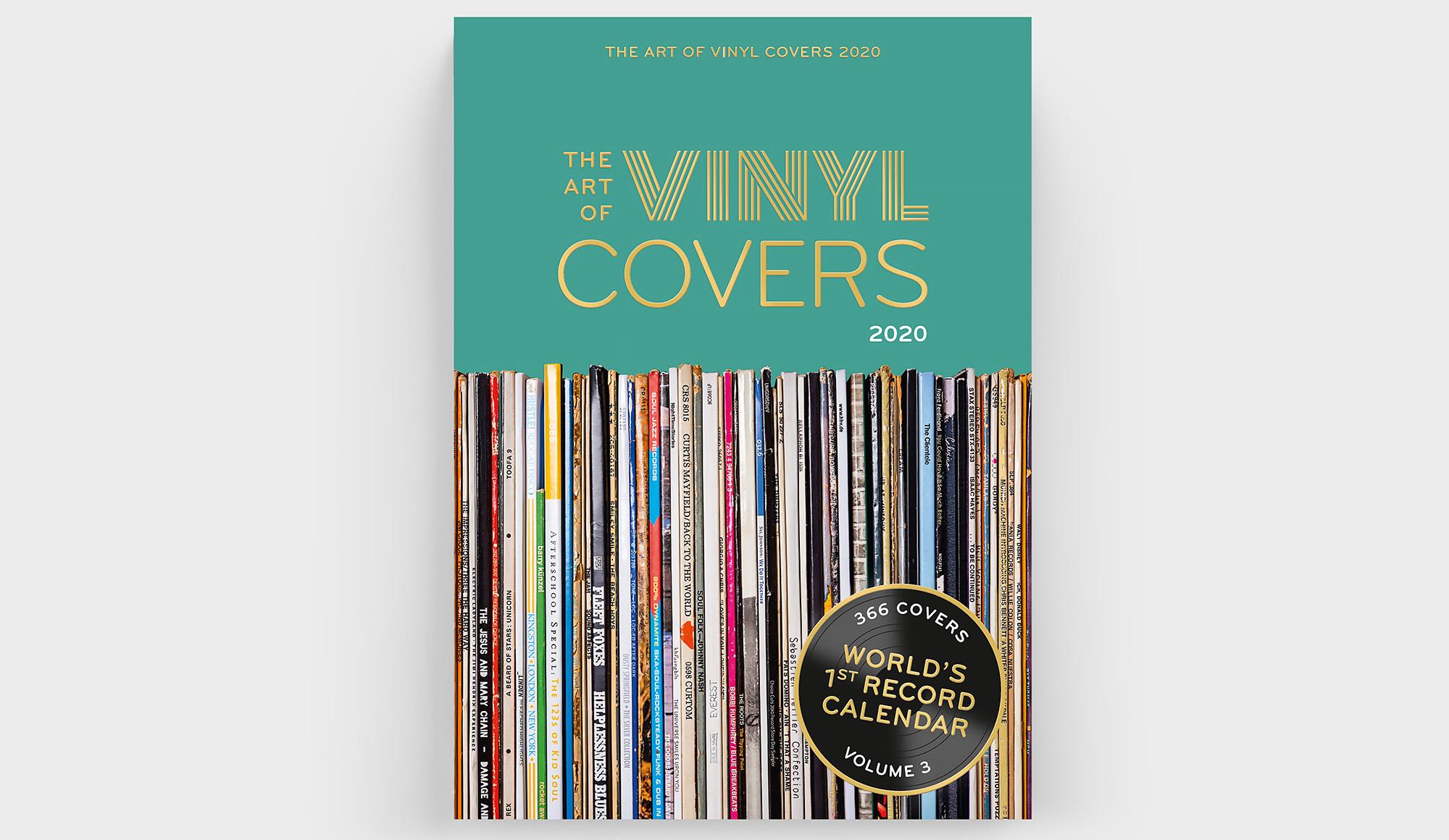 """Auch 2020 kann der """"The Art Of Vinyl Covers"""" Kalender des Verlag seltmann+söhne wieder mit einer tollen Album-Auswahl überraschen."""