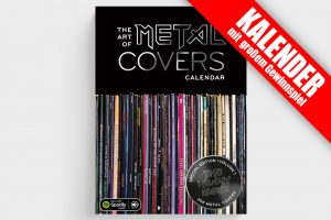 The Art Of Metal Covers Calendar