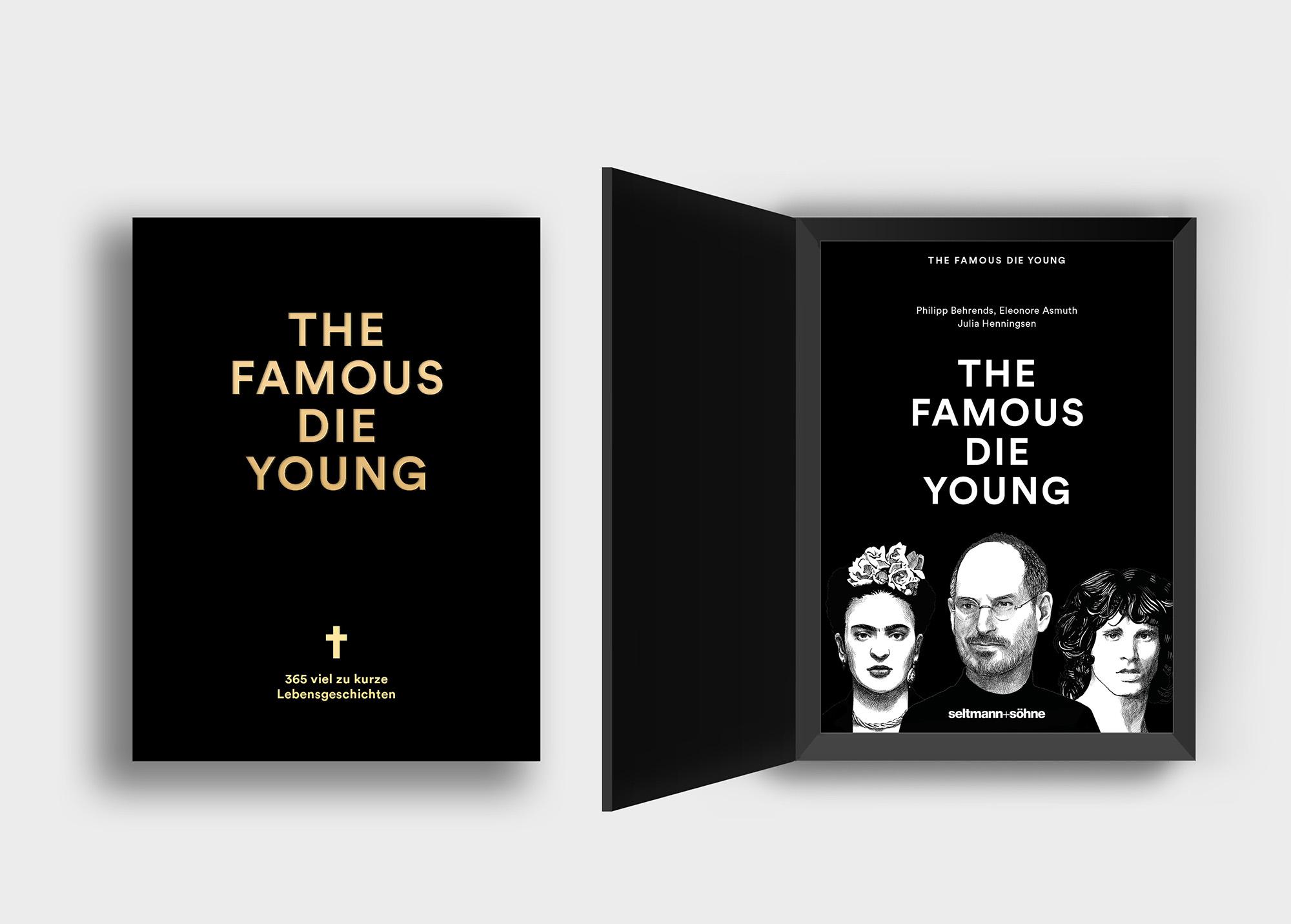Das Team um Oliver Seltmann und der seltmann+söhne Verlag blickt in die Zeitgeschichte zurück und ehrt 365 zu früh verstorbene Ikonen