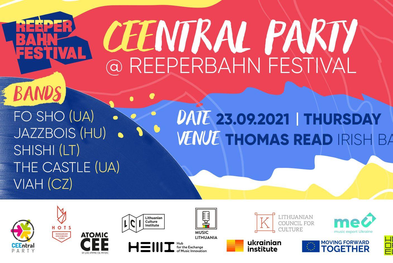 CEEntral Party 2021 Reeperbahn Festival